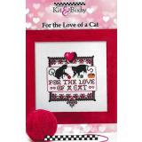 For The Love Of A Cat - Kreuzstichvorlage Kit & Bixby