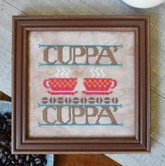 Cuppa Cuppa - Stickvorlage Hands On Design