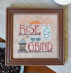 Rise & Grind - Stickvorlage Hands On Design