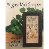 August Mini Sampler - Stickvorlage From the Heart