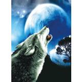 Needleart World Stickpackung 350-027 Heulender Wolf 46,4x63