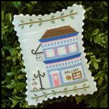 Country Cottage Needleworks Stickvorlage Main Street Art Gallery