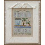 Country Cottage Needleworks Stickvorlage Beach House