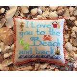 To The Beach & Back - Stickvorlage Needle Bling Designs
