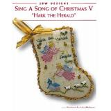Sing A Song Of Christmas V - Stickvorlage JBW Designs