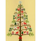 Kreuzstichpackung Bothy Threads - Christmas - Scandi Tree