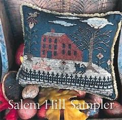 Salem Hill Sampler - Stickvorlage The Scarlett House