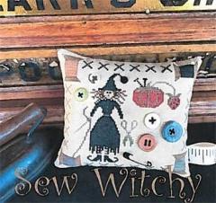Sew Witchy - Stickvorlage The Scarlett House