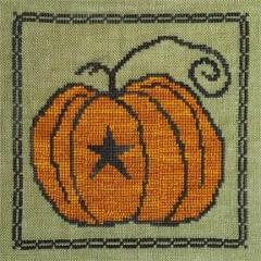 Artful Offerings Stickvorlage Prim Pumpkin