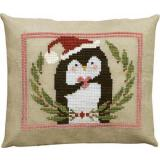 Artful Offerings Stickvorlage Pinny Penguins Heart Of Christmas