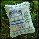 Country Cottage Needleworks Stickvorlage Main Street Dress Shop