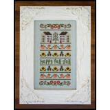 Country Cottage Needleworks Stickvorlage Happy Fall Yall