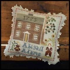 Early American - Abigail Adams - Kreuzstichvorlage Little House Needleworks