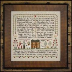 Beatitudes - Kreuzstichvorlage Little House Needleworks