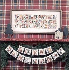 Kreuzstichvorlage Prairie Schooler - Christmas Alphabet