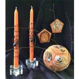 Amaryllis Artworks Stickvorlage Halloween Ball