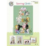 Sewing Cats (Katzen) - Stickpackung Soda Stitch