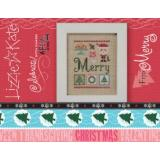 Merry Celebrate With Charm- Kreuzstichvorlage Lizzie Kate