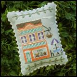 Country Cottage Needleworks Stickvorlage Main Street Cafe