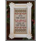 Wonderful Time Of Year - Stickvorlage Country Cottage Needleworks
