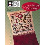 Bird In Hand - Christmas (w/emb) - Kreuzstichvorlage Heart In Hand