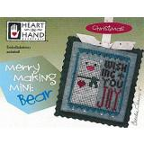 Merry Making Mini - Bear (w/emb) - Kreuzstichvorlage Heart In Hand