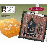 Merry Making Mini - Peace (w/emb) - Kreuzstichvorlage Heart In Hand
