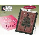 Merry Making Mini - Tree (w/emb) - Kreuzstichvorlage Heart In Hand