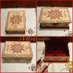 My Book Sewing Box - Stickvorlage MTV Designs