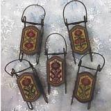 Foxwood Crossings Stickvorlage Pomegranate Sleds