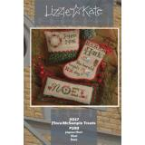 Flora McSample Treats 2017 - Kreuzstichvorlage Lizzie Kate
