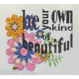 Be Your Own Kind Of Beautiful - Kreuzstichvorlage MarNic Designs