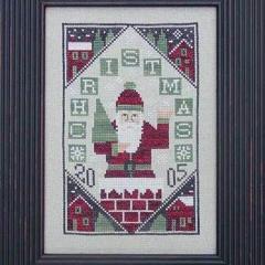 Prairie Schooler Stickvorlage 2005 Limited Edition Santa