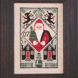 2007 Limited Edition Santa (CHART ONLY) - The Prairie Schooler