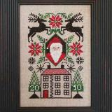 2010 Limited Edition Santa (CHART ONLY) - The Prairie Schooler