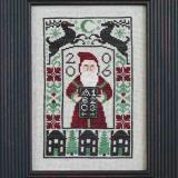 2006 Limited Edition Santa (CHART ONLY) - The Prairie Schooler