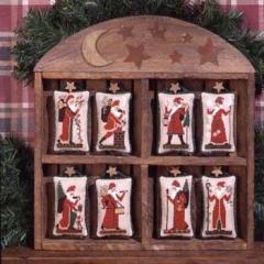 Old World Santas - KreuzstichvorlageThe Prairie Schooler