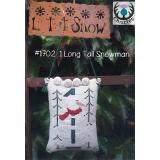 Thistles Stickvorlage 1 Long Tall Snowman