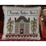 Friends Gather Here - Stickvorlage Abby Rose designs