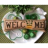 Wee Welcome - March Shamrock - Stickvorlage Needle Bling Designs