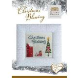 Kreuzstichvorlage Cottage Garden Samplings - Christmas Blessing