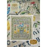 Kreuzstichvorlage Cottage Garden Samplings - A Partridge In A Pear Tree