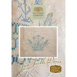 Cottage Garden Samplings Stickvorlage 12 Days of Christmas Two Turtle Doves