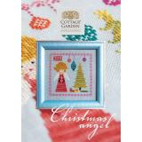 Kreuzstichvorlage Cottage Garden Samplings - Christmas Angel