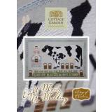 Cottage Garden Samplings Stickvorlage 12 Days of Christmas Eight Maids A Milking