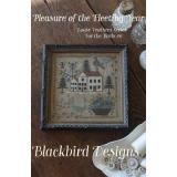 Blackbird Designs Stickvorlage Loose Feathers Pleasure Of The Fleeting Year
