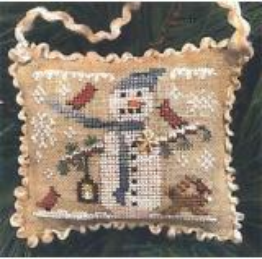 Snowy Friends - Stickvorlage Homespun