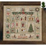 Sara Guermani Stickvorlage Advent Sampler