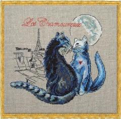 Les Chamoureux - Stickvorlage Nimuë