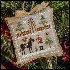 Farmhouse Christmas 2 - Horsin Around - Kreuzstichvorlage Little House Needleworks